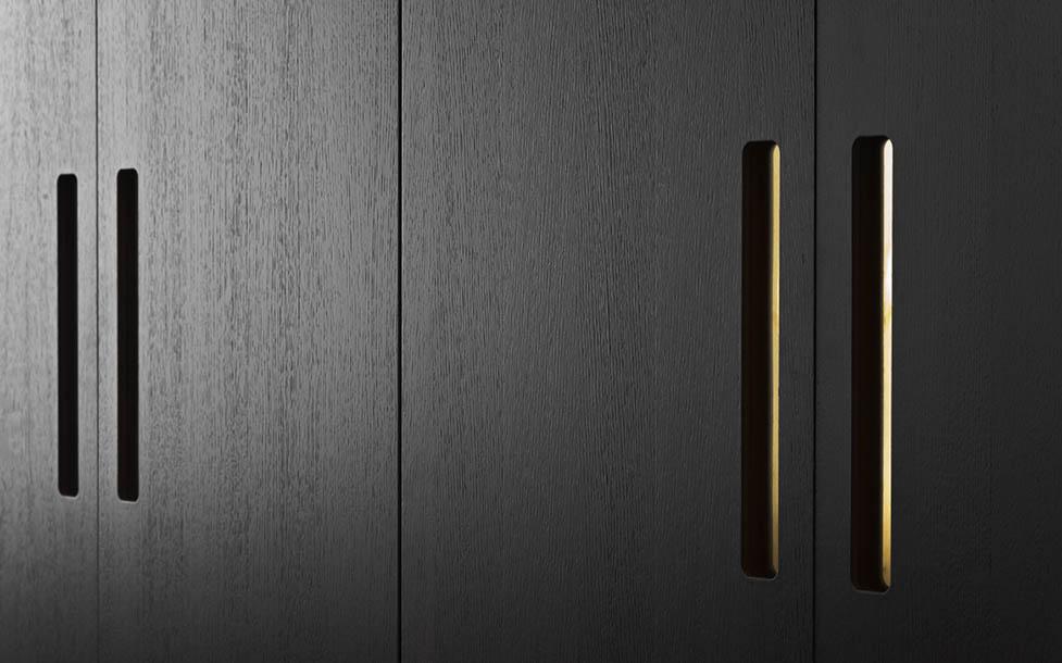 Strålande Garderobsdörrar till IKEA-stommar LL-82